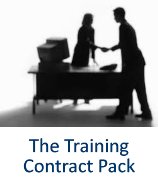 The Training Contract Pack from Ten-Percent Legal Recruitment