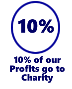 Ten-Percent Legal Recruitment has been donating 10% of profits to charity since April 2000.