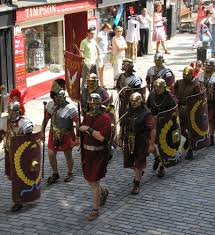 romans everywhere in chester